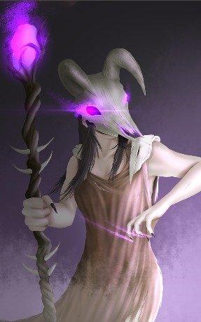 Mage Character Art