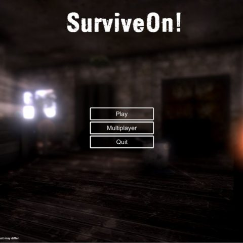 SurviveOn! Main Menu